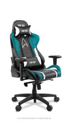 Star Trek Chair Blue
